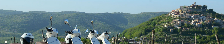 Vespa tour Motovun