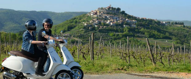 Vespa Tour Istria