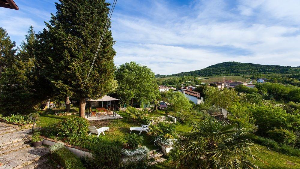 Apartment Motovun 2 garden