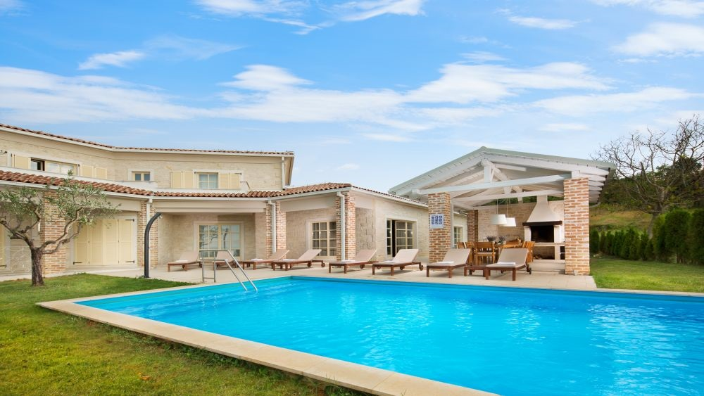 Villa with pool rental Istria