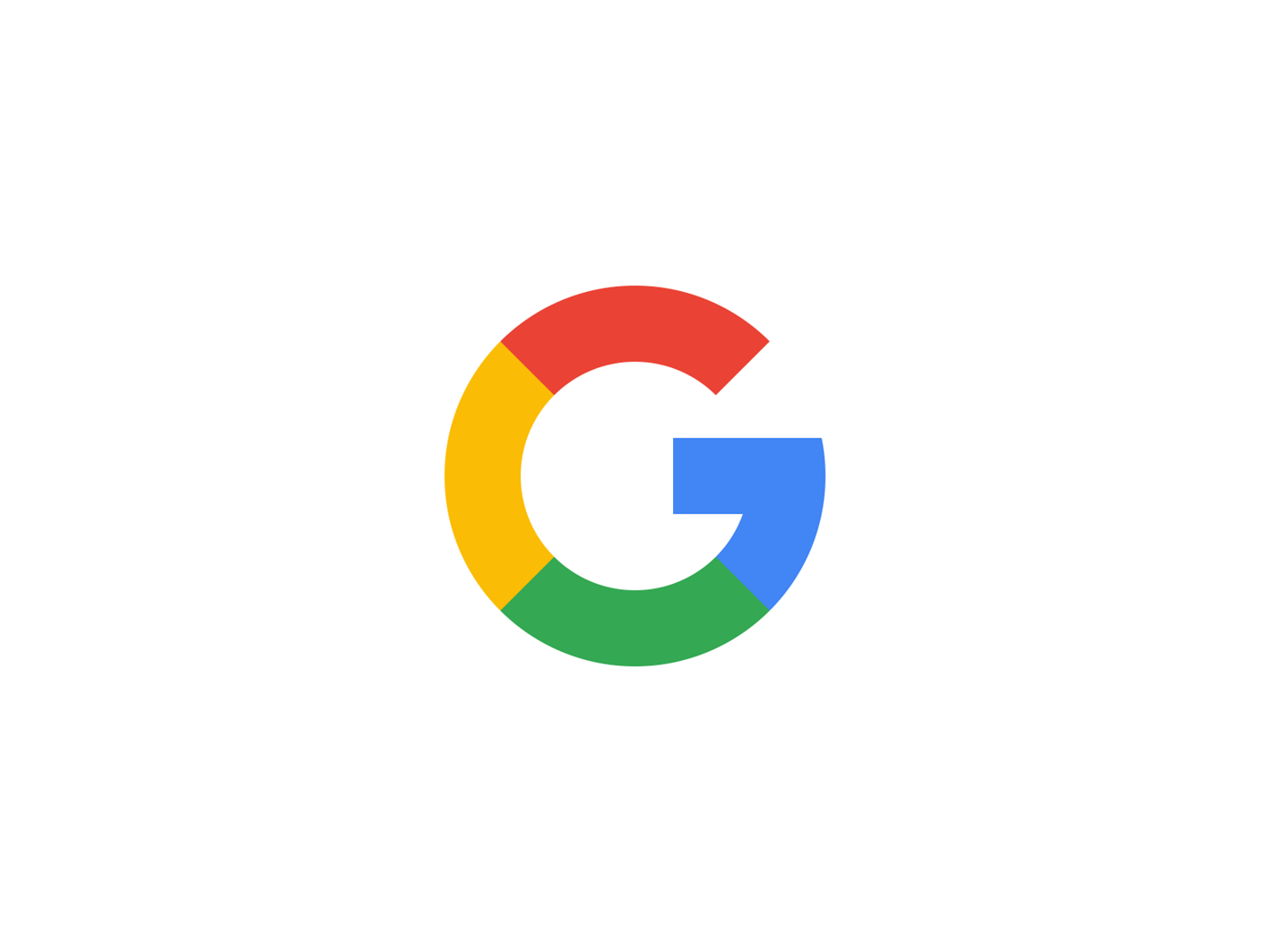 revised  google  logo