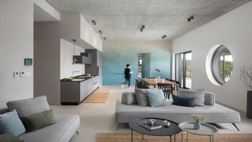 Open plan ground floor