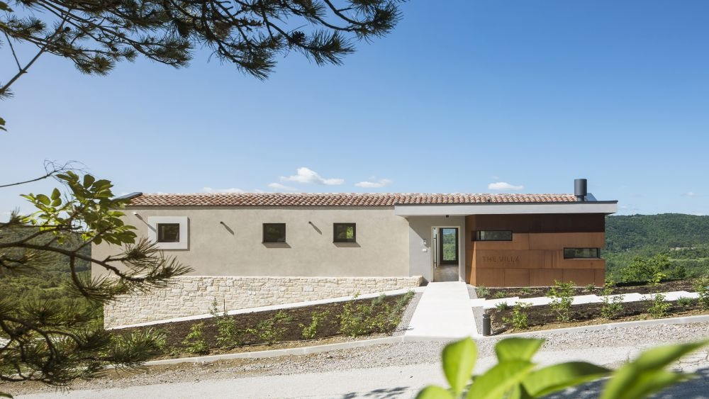Villa in Istrian village