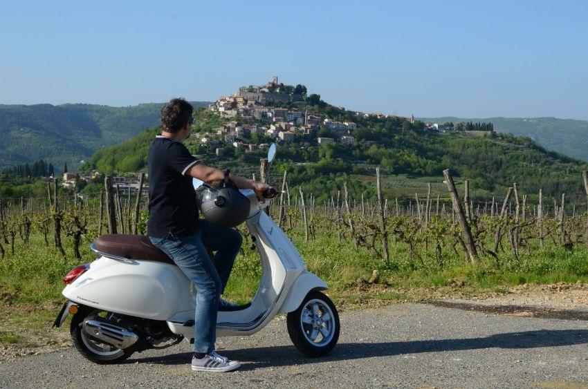 Vespa tour Istra