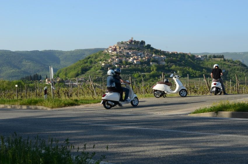 Vespa tour Istra vožnja Istrom