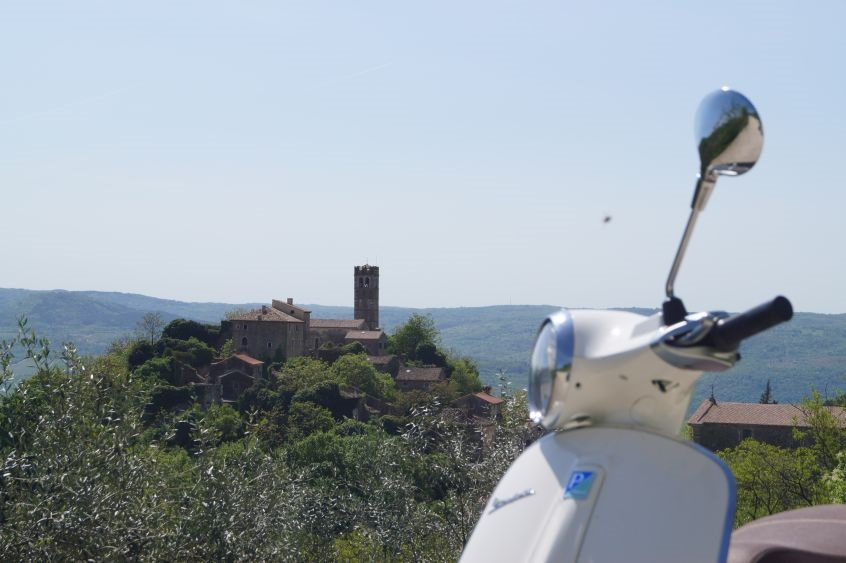 Istrian Vespa Day trip