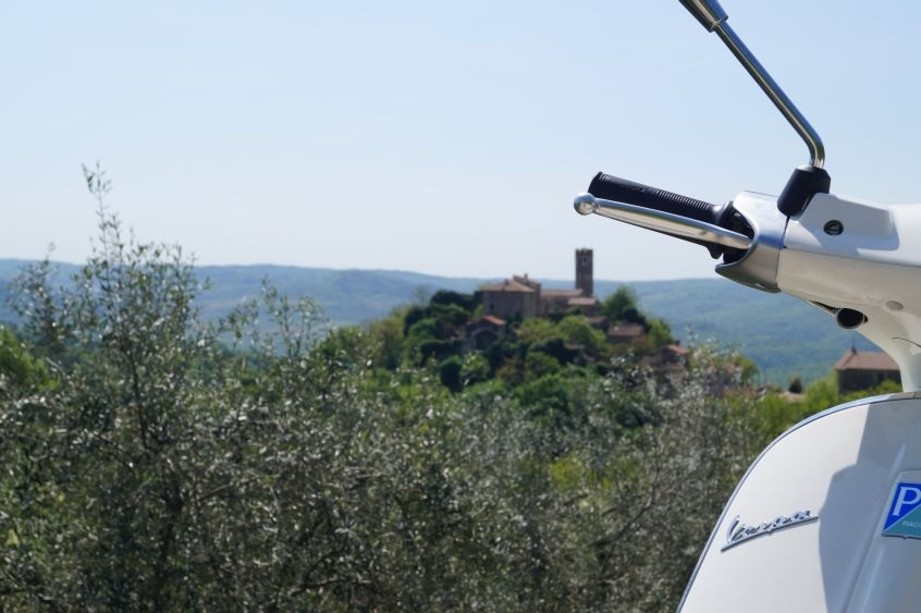 Vespa tour, half day tour on Vespa in Istria.