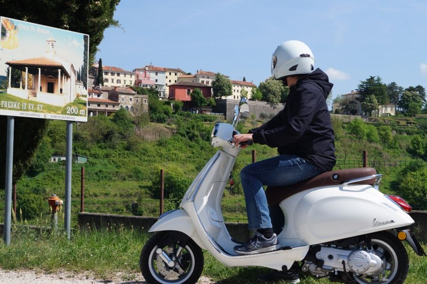Istria Vespa tour