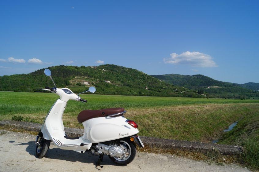 Vespa tour Istra Sv. Bartol