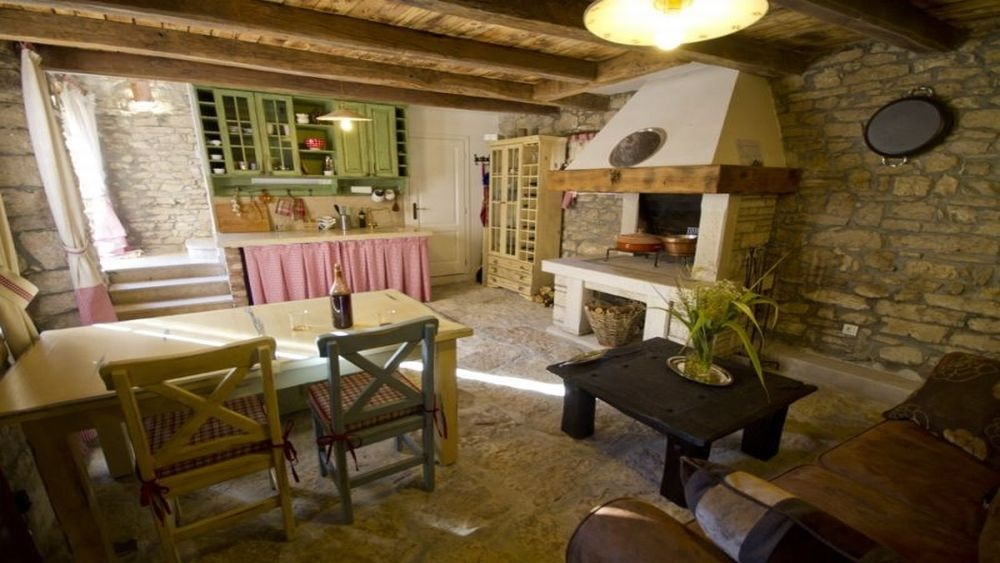 - old istrian stone house