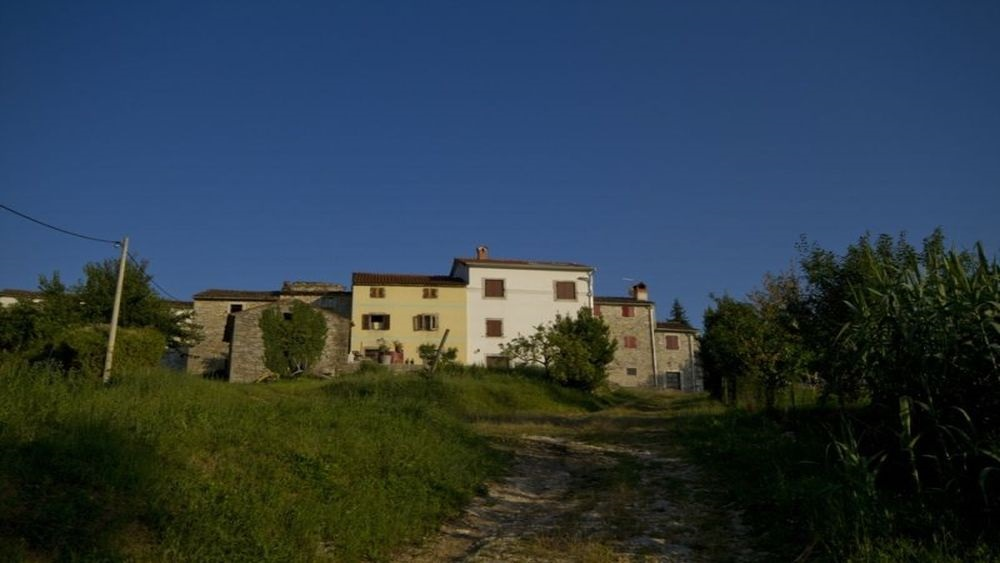 Stone holiday house Motovun)
