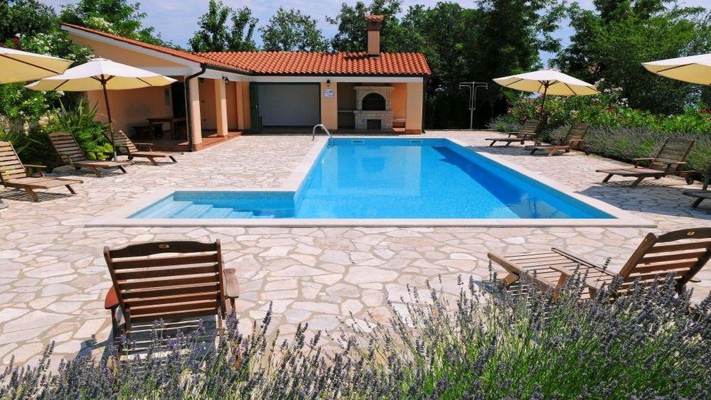 Holiday Villa With Pool 0161 Rabac Area