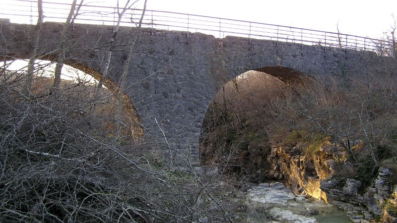 Parenzana bridge on trail